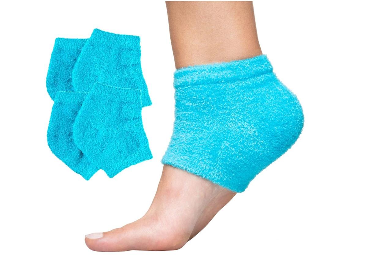 ZenToes Moisturizing Heel Socks (2-Pack)