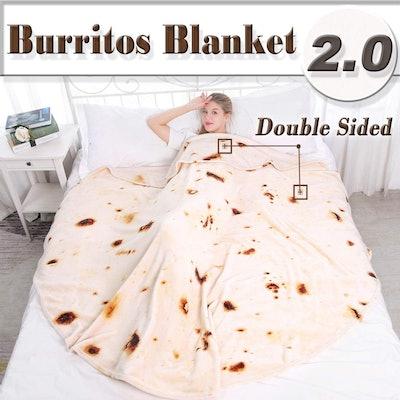 mermaker Burrito Blanket