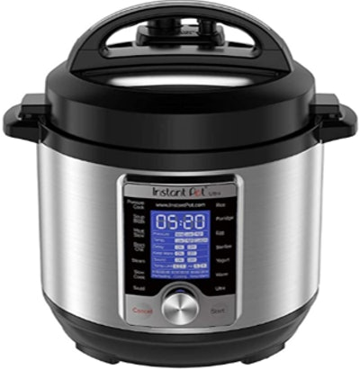 Instant Pot Ultra 3 Qt 10-in-1 Multi- Use Programmable Pressure Cooker, Slow Cooker, Rice Cooker, Yogurt Maker, Cake Maker, Egg Cooker, Sauté, Steamer, Warmer, and Sterilizer, Silver