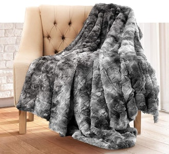Everlasting Comfort Luxury Faux Fur Throw Blanket
