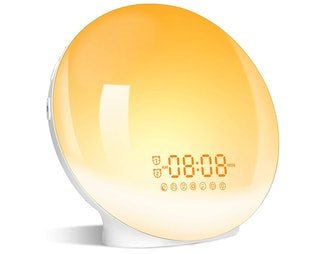 LBell Wake-Up Light Sunrise Alarm Clock