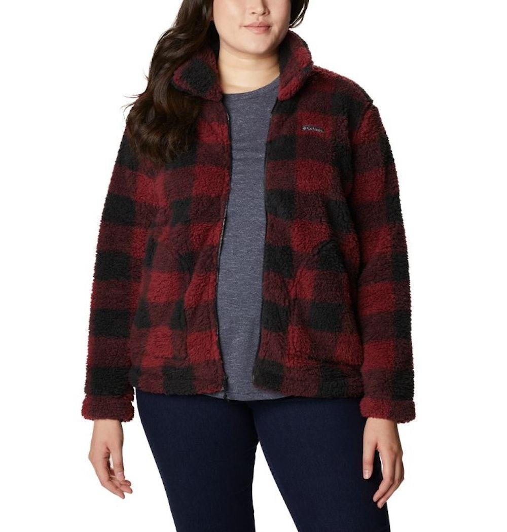 Women's Winter Pass™ Full Zip Fleece Jacket - Plus Size