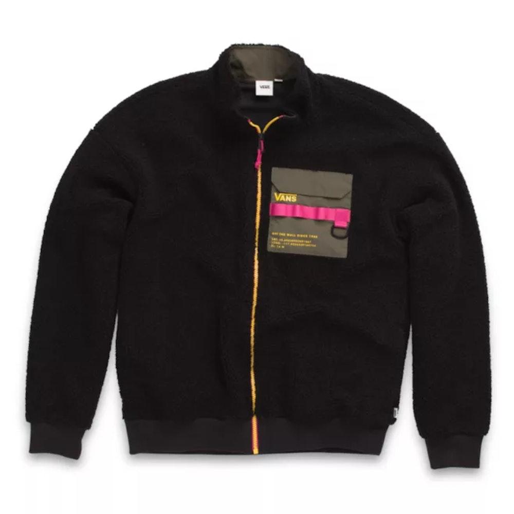 66 Supply Zip Sherpa Jacket