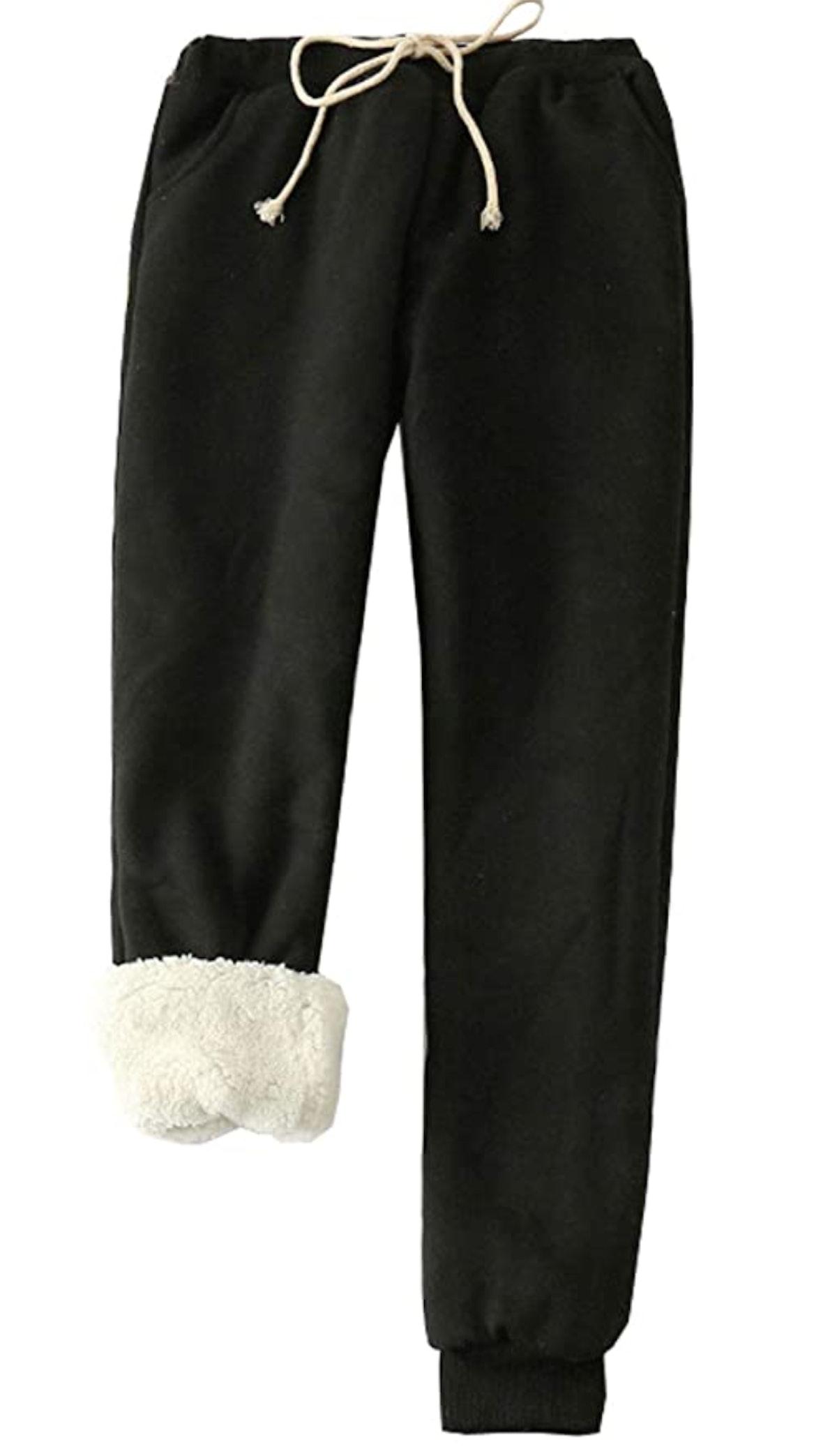 Flygo Fleece Joggers Pants