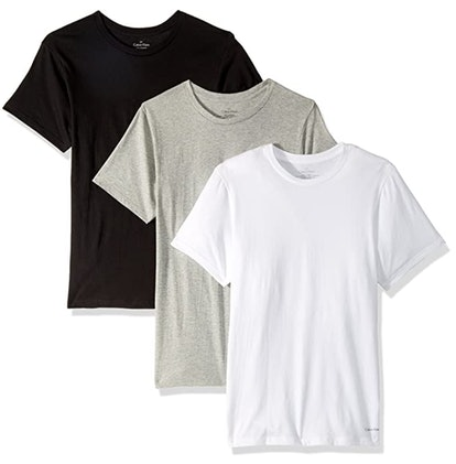 Calvin Klein Cotton Classics Crew Neck T-Shirts (3-Pack)