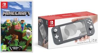 Nintendo Switch Lite With Minecraft