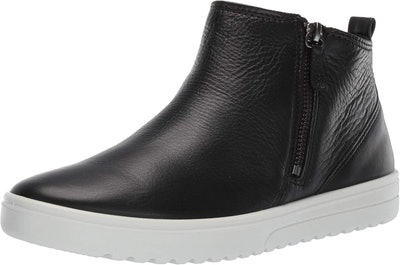 Ecco Fara Ankle Zip Bootie Sneaker