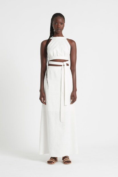 AMBROISE OPEN BACK GOWN