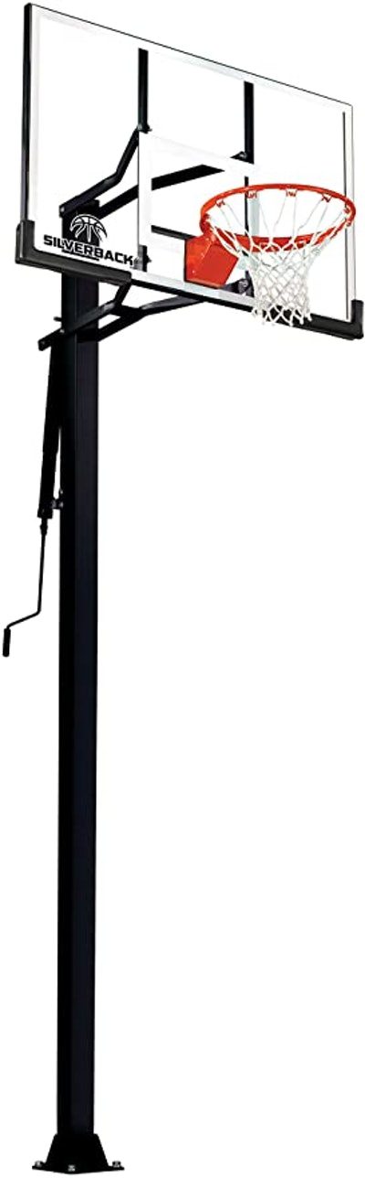 "Silverback 54"" In-Ground Basketball Hoop"