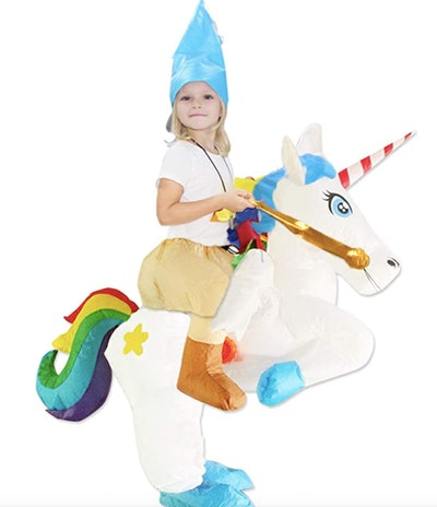 Inflatable Unicorn Rider Costume