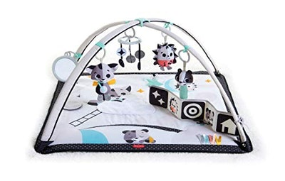 Tiny Love Black & White Gymini Infant Activity Play Mat With Book