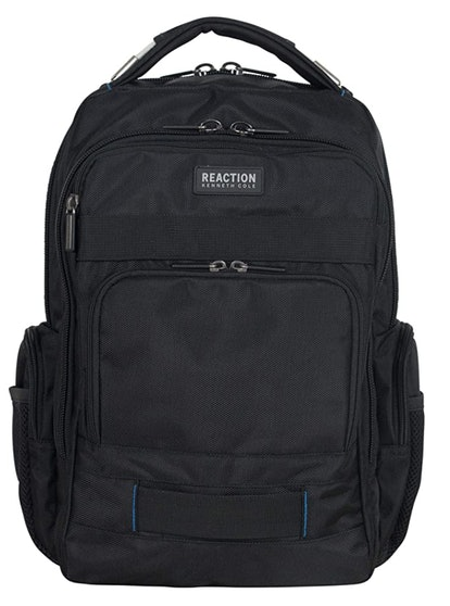 "Kenneth Cole Reaction Urban Traveler 15"" Laptop & Tablet Anti-Theft RFID Business Travel Backpack"