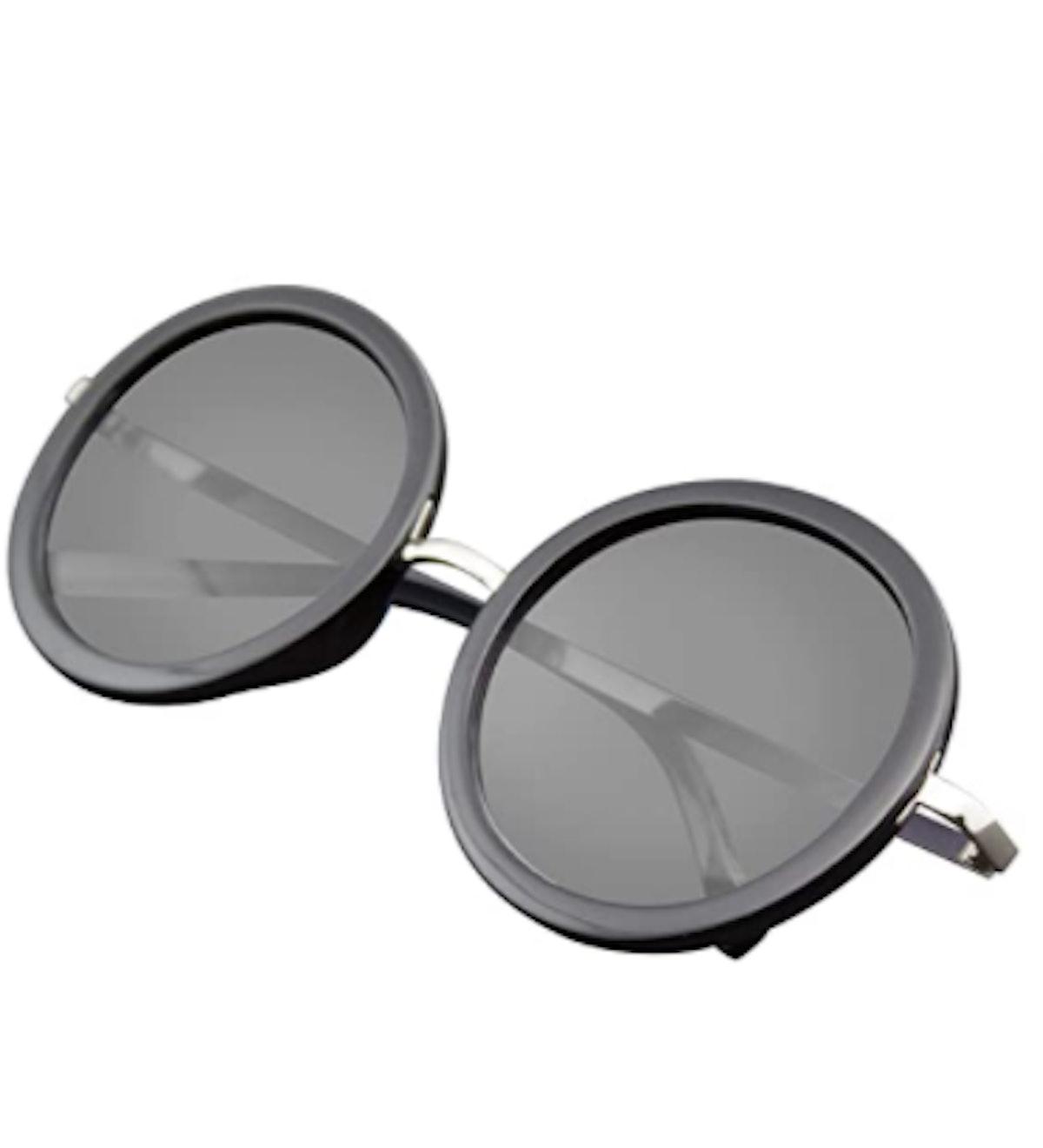 Emblem Eyewear - New Round Circle Fashion Designer Celebrity Womans Sunglasses