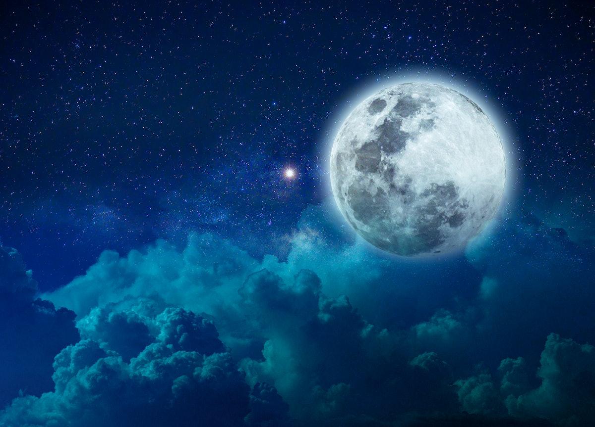 Blue Moon on Halloween