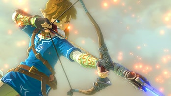 zelda breath of the wild link bow and arrow
