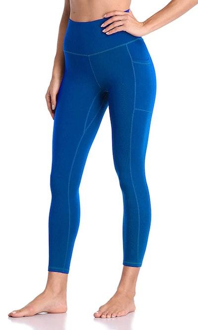 Colorfulkoala High Waisted Yoga Pants 7/8 Length with Pockets