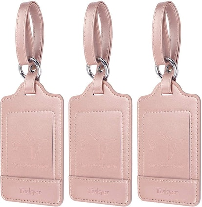 Luggage Tags, 3 Pack Teskyer Premium