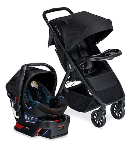 B-Clever Lightweight Stroller B-Safe 35 Infant Car Seat Travel System