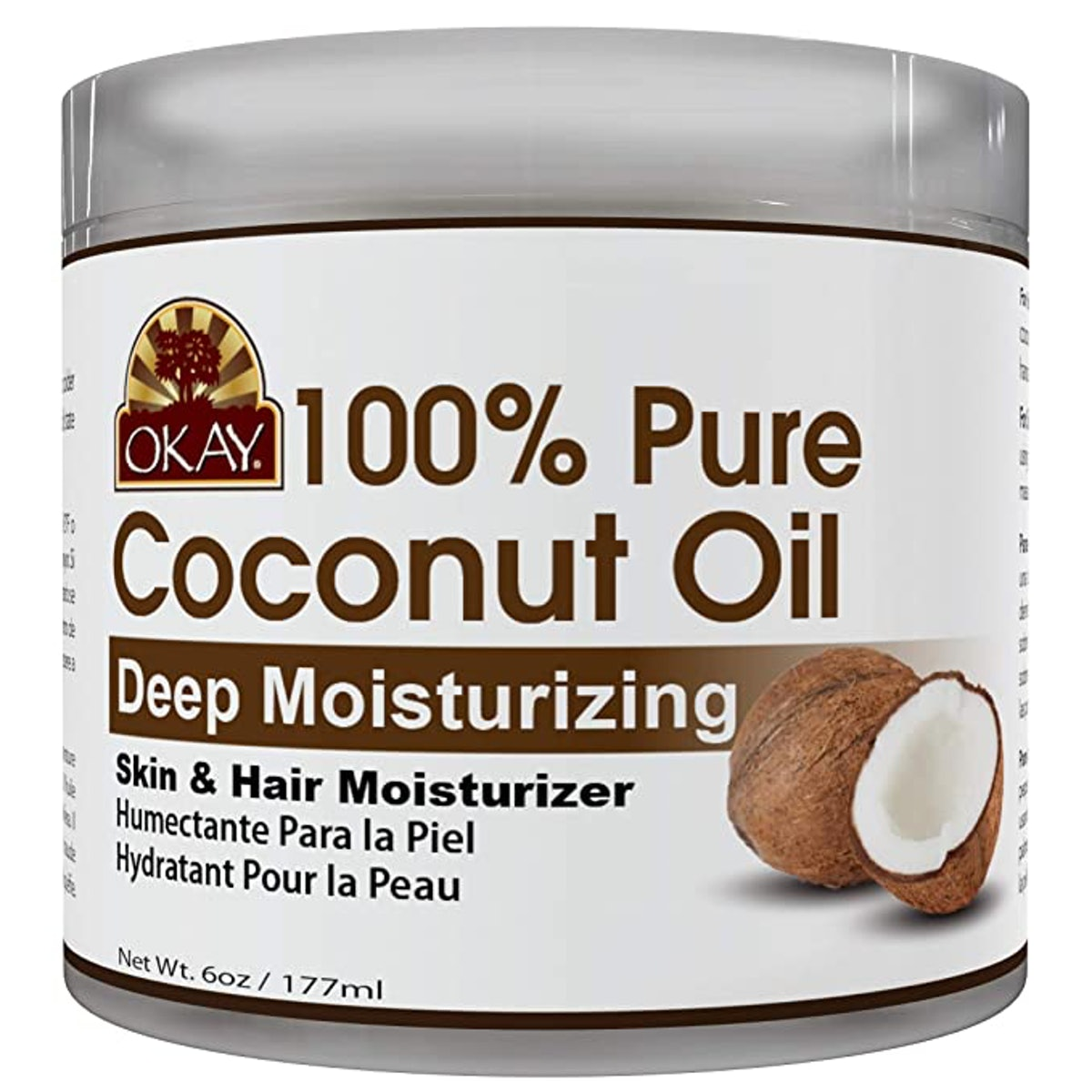 OKAY 100% Pure Coconut Oil