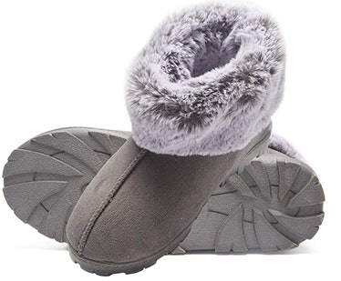 Jessica Simpson Faux Fur Bootie Slippers