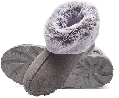Jessica Simpson Faux Fur Bootie Slippers