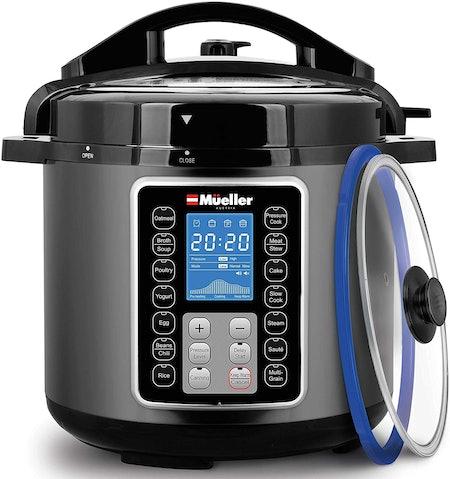 Mueller 6 Quart Pressure Cooker 10-in-1