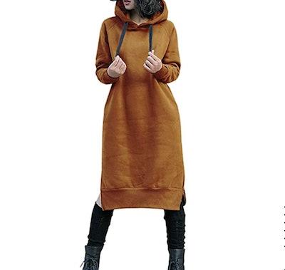 NUTEXROL Hoodie Dress