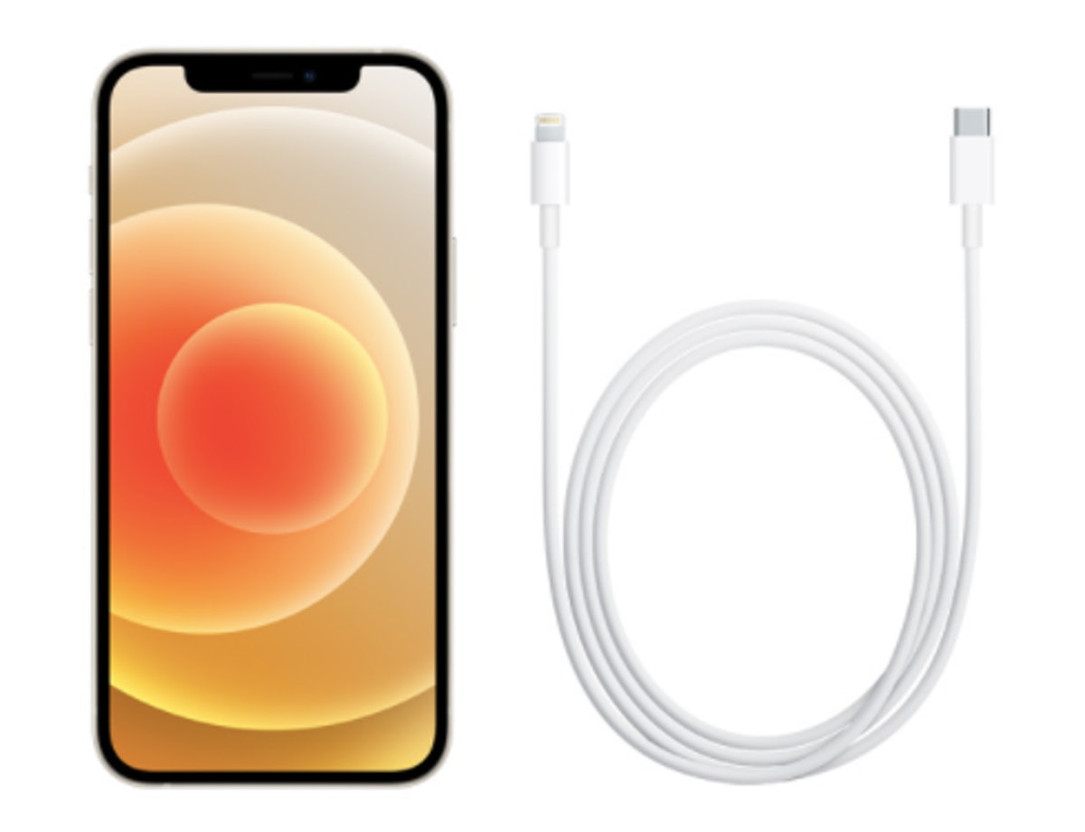 Apple's iPhone 12 line comes with a new Lightning to USB-C cable.