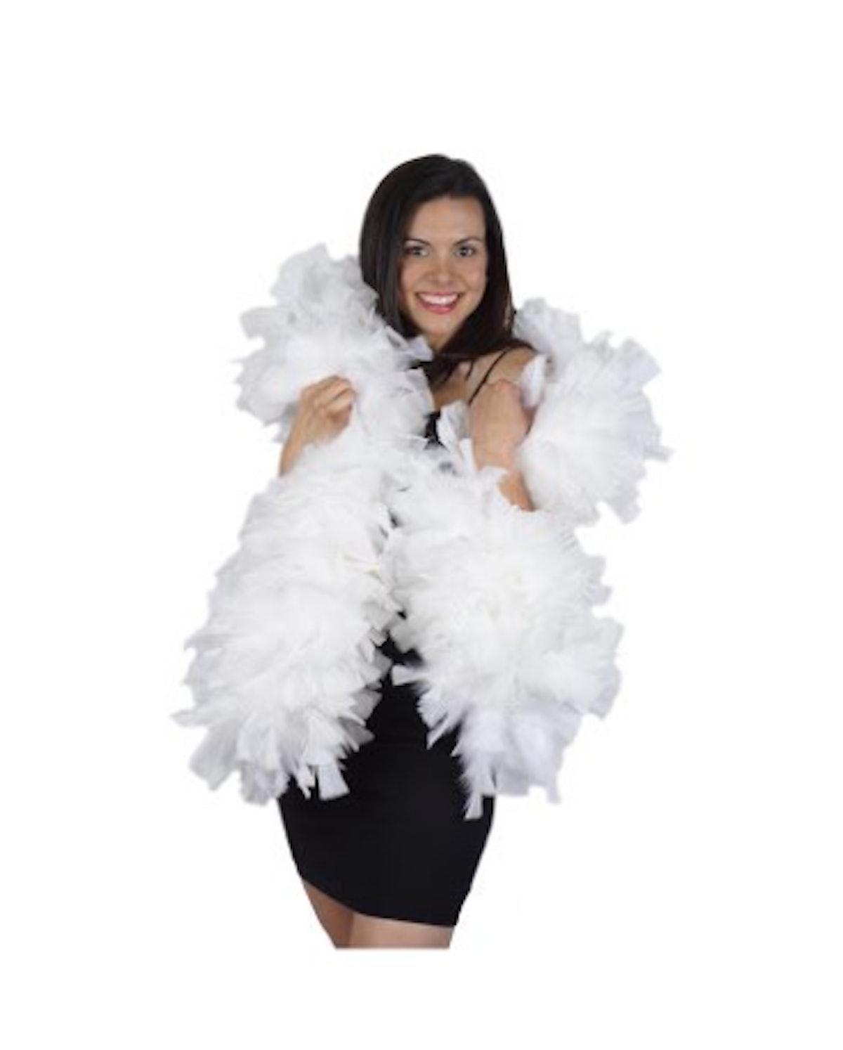 Zucker Feather Products Turkey Feather Boas