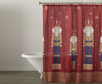 Nutcracker Shower Curtain Set
