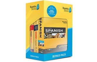 Rosetta Stone Learn Spanish Bonus Pack Bundle