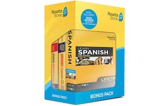 Rosetta Stone Learn Spanish Bonus Pack Bundle