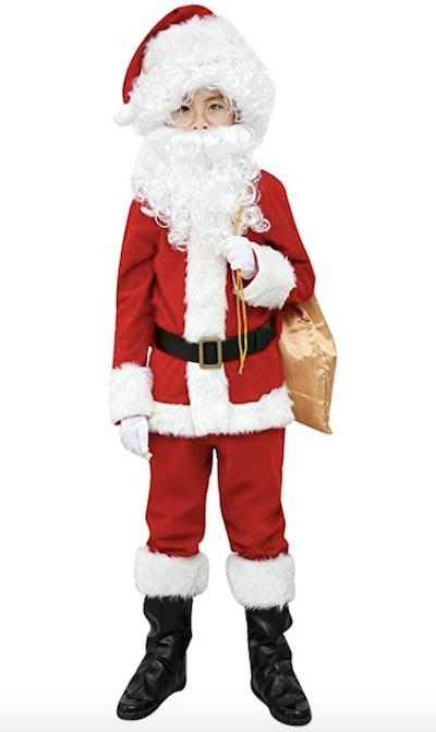 Children's Santa Suit