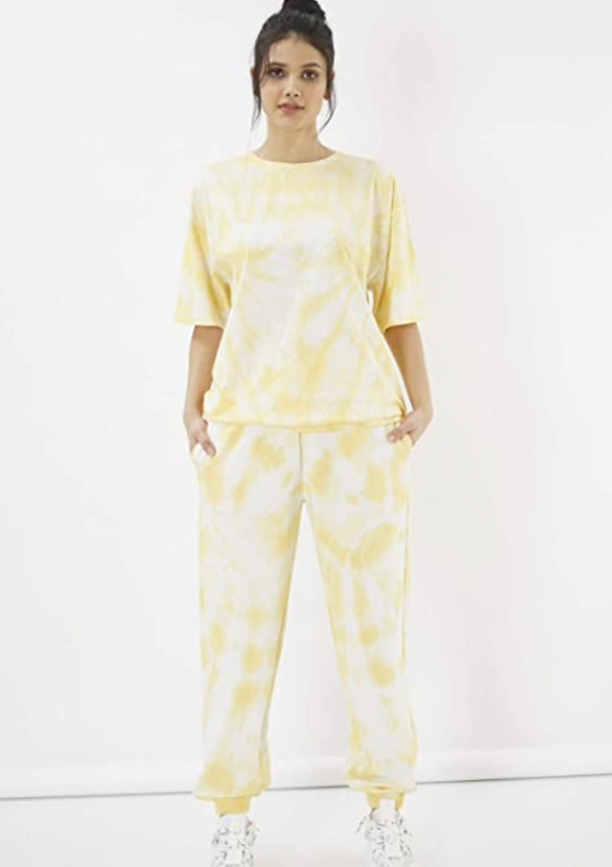 Eoselio Loungewear Women's Printed Solid Activewear