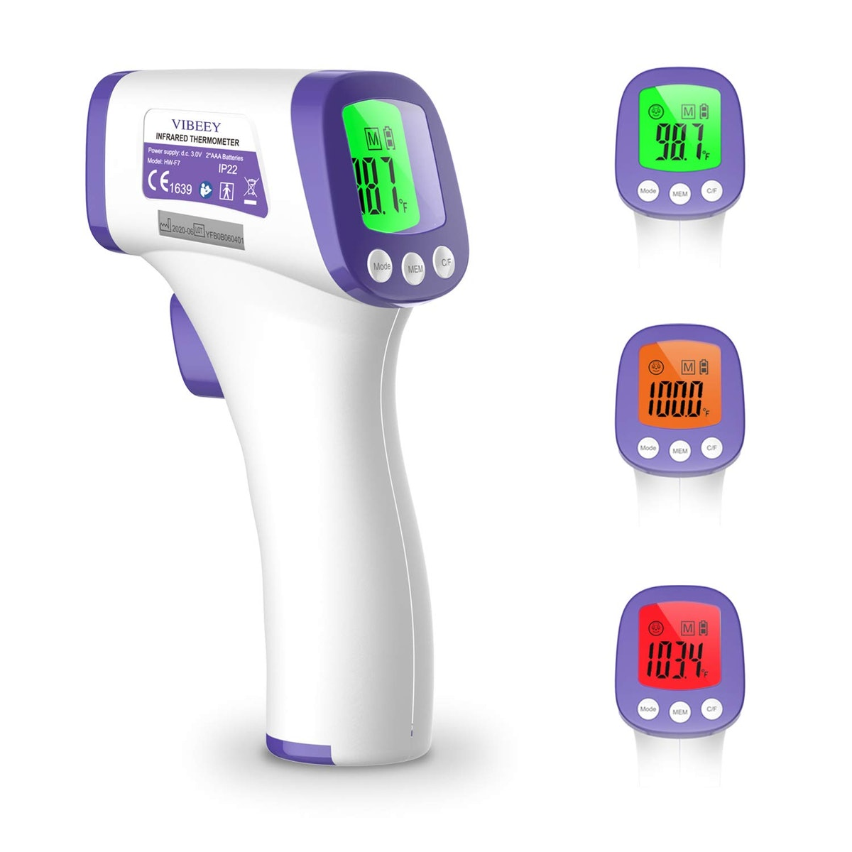 Vibeey Digital No-Contact Forehead Thermometer