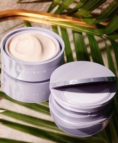 Fenty Skin Instant Reset Overnight Recovery Gel-Cream in jar.