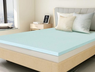 Milemont Gel Memory Foam Mattress Topper