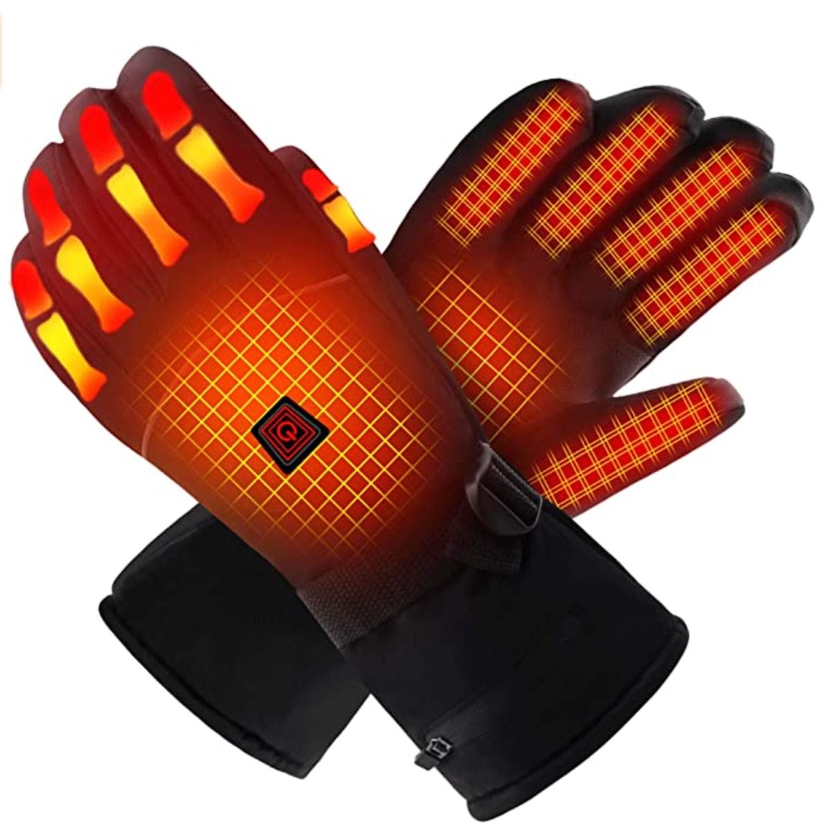 QILOVE Electric Heated Gloves
