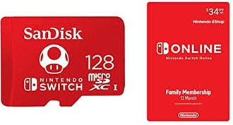 SanDisk 128GB MicroSDXC UHS-I Memory Card for Nintendo Switch