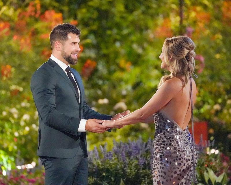 Blake Moynes and Clare on The Bachelorette via the ABC press site