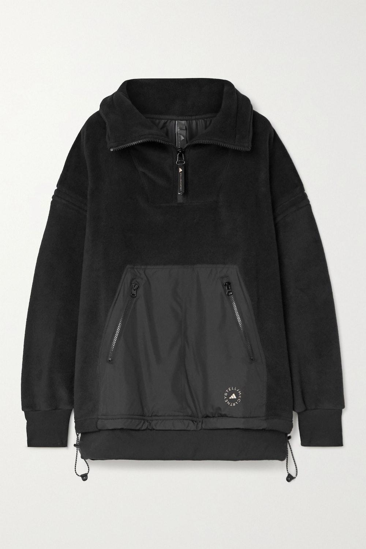 Paneled Fleece and Shell Jacket