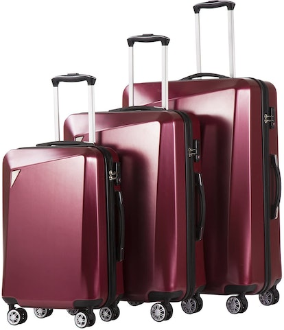 Coolife Luggage 3 Piece Sets