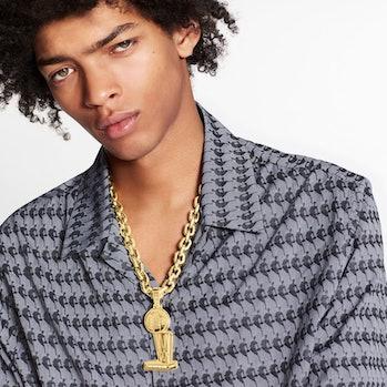 Louis Vuitton NBA Camp Collar Shirt