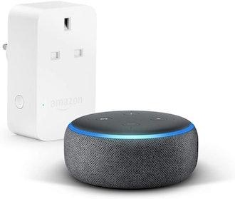 Amazon Echo Dot with Smart Plug
