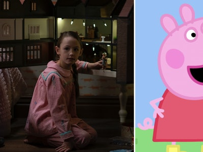 "Flora from ""The Haunting Of Bly Manor"" is also Peppa Pig."