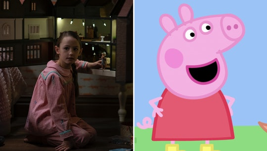"""Flora from """"The Haunting Of Bly Manor"""" is also Peppa Pig."""