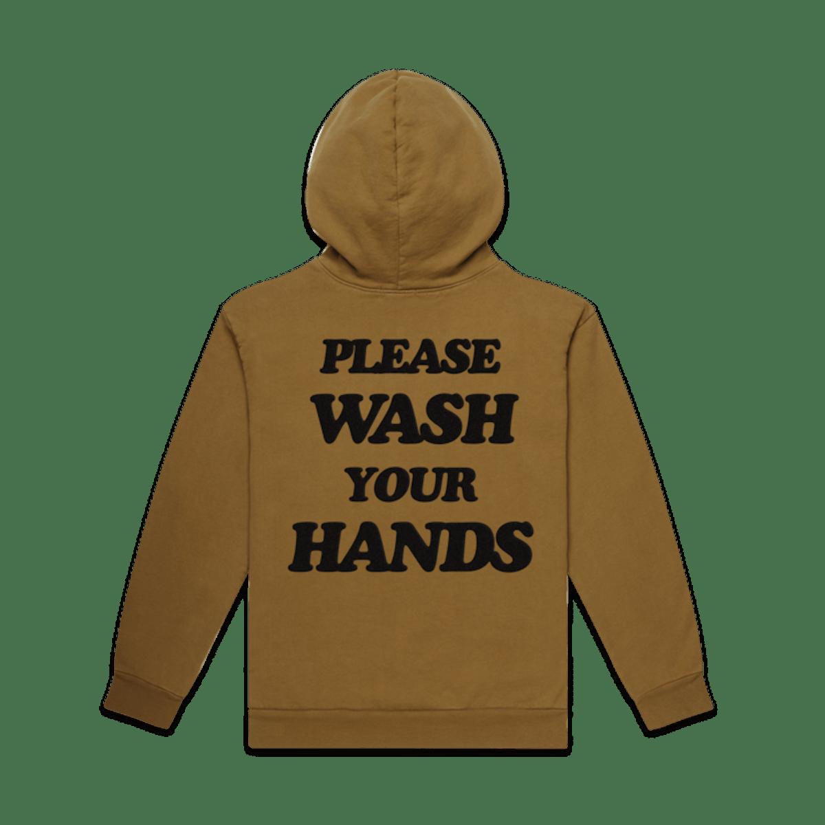 UNISEX WASH YOUR HANDS PREMIUM ZIP UP HOODIE