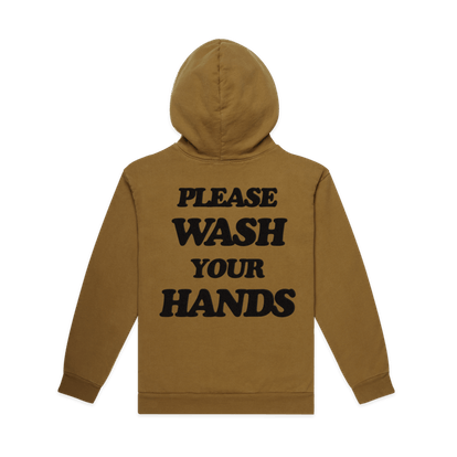 UNISEX WASH YOUR HANDS PREMIUM ZIP UP HOODIE