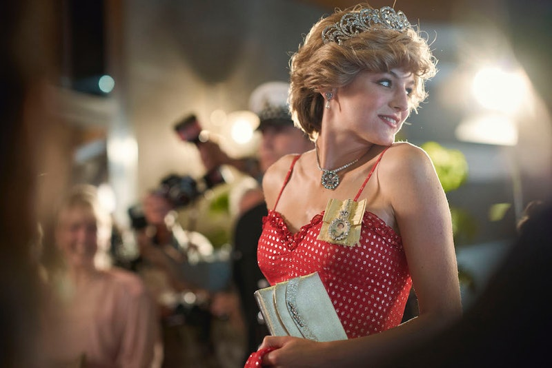 "Emma Corrin as Princess Diana in ""The Crown"" Season 4"