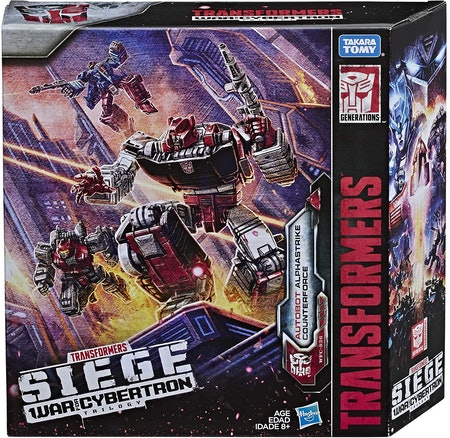 Transformers Toys Generations War for Cybertron Deluxe Wfc-S26 Autobot Alphastrike Counterforce 3 Pack - Final Strike Figure Series: Part 1 (Amazon Exclusive)